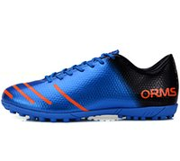artificial turf soccer - Brand mens soccer boots Sport shoes soccer sneakers Quality Artificial turf training football shoes