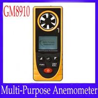 Wholesale Multifunction Anemometer GM8910 temperature range C MOQ