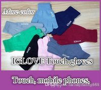 hipad - DHL With retail pack High quality Unisex iGlove Capacitive Touch Screen Gloves for iphone C S for hipad for smart phone iGloves gloves