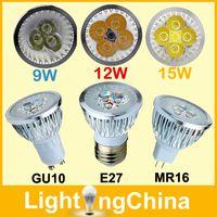 mr16 led - LED Bulbs E27 GU10 MR16 Spotlight W W W Dimmable AC85 V Warm White Pure White Cool White Years Warranty X1