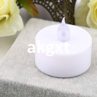 Wholesale Details about Water Float Simulation Flameless No Smoke Candle Light Safe For Party Wedding G9 D504
