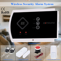 autodial alarm system - ZONEWAY Wireless ANDROID IOS APP Phone Control GSM SMS Autodial Home Burglar Alarm Security System S474