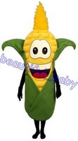 Wholesale HUSKY CORN mascot costume Plush mascot Vegetable mascot costume vegetable mascot costumes