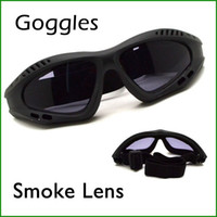 Wholesale Outdoor Motorcycle Goggles Windproof Glasses Safety Sport Glass Smoke Lens