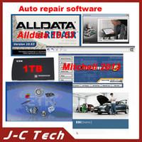 Wholesale 2016 High Quality TB hard Disk ALLDATA Mitchell Auto Repair Software Vivid Elsa ETK Hot sale