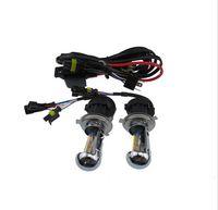 achat en gros de meilleures ampoules hid-1Réglez 55W Xenon HID Conversion Headlight KIT H1 H4 H7 H10 / 9005 9006 4300K 6000k Led Ampoules le meilleur de meilleur éclairage au xénon.