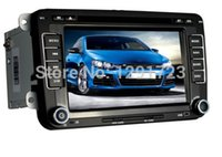 Wholesale car dvd quot Capacitive Android Car GPS DVD Video Player HeadUnit For VW Volkswagen Golf Passat CC MK5 GPS Navigation In Dash Radio Car D