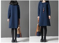 belle clip - loose big yards in the women s new winter long clip show thin render more cotton long sleeve dress Knitted Dress Belle Retro Linen Dress