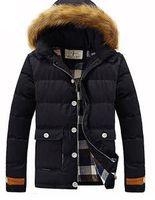 Wholesale Fall winter clothing famous brand men s cotton coat pure cotton men s clothing H16899 down jacket men canada g00de jacket