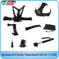 Wholesale Strap Harness Adjustable Elastic Chest Belt For GoPro Hero SJ4000 Xiaomi Yi Sport Camera