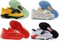 Cheap Fashion Kevin Durant Kd Vii KD 7 basketball shoes for men eur size 40-46