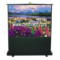 Wholesale Cynthia Screen High Quality and lowest price Business Pull UP Projection Screen Portable Screens Outdoor Indoor projection Screens