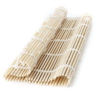 Wholesale 2015 Top Selling High Quality Bamboo Sushi Mat Roller Rice Roller Rolling Maker Tool For Kitchen Home Cooking