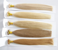 Cheap Flat Tip Capsule Remy Human Hair Best 100g Flat tip remy hair extension