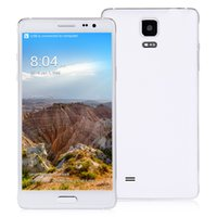 Wholesale 6pcs DHL DHOriginal Star N9500 N9000 NOTE4 Inch IPS HD MTK6582 Quad Core SmartPhone Android GB GB MP Camera OTG Gesturee