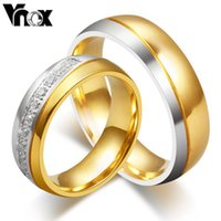 Cheap Wedding rings fashion CZ stone rings for women and men jewelry wholesale stainless steel ring for engagement party jewelry