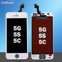 mobile phone display - 2016 Factory Repair Parts Mobile Phone Display For iPhone S C Lcd Display Touch Screen Digitizer Full Assembly