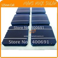 Wholesale 20PCS W mm monocrystalline Solar cell with enough Tabbing wire Busbar wire for DIY solar panel