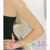 Wholesale Black Beige Hot Sale Free Size Women Slim Weight Loss Arm Shaper Thin Cellulite Fat Burner Wrap Belt Ladies Arm Shaper CCA1788