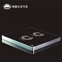 Сенсорную панель Цены-86 Стена интеллектуальный сенсорный-Сумеречный выключатель Sunwill Автомобильный черный Интеллектуальная панель управления