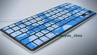 airs iskin - iSkin Protouch Vibes keyboard protector for Macbook Air quot quot red blue green purple