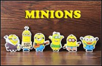 best friends keychain - cartoon despicable me minions keychains cotton filling minion keychain key ring best friend despicable me key chain pvc figure keychain