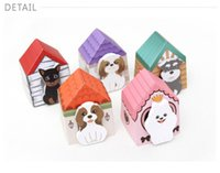 Wholesale 2015 Lovely Dog Memo Pad Sticky Notes Pieces Kawaii Stickers Writing Paper for Office Supplies