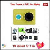 Wholesale 2016 hotsales for Xiaomi Yi Action Camera optional connector set XiaoYi waterproof Camera P fps MP wifi