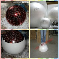 Wholesale 50cm Specular Reflection Glass Ball Lights Mirror Disco Ball Magic Ball Stage Light Party KTV Room Lights