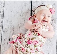 Wholesale 3pcs Baby Posh Floral Lace Belt Bubble Fashion Baby Rompers arters Baby Girl Infant sylvia
