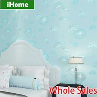 Wholesale Living Room Wallpaper Floral Pattern Wallcovering Non Woven Luxury Modern Natural Material Wallpapers D Wall Murals Wallpaper