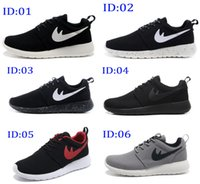 Wholesale 2016 New Cheap Mens Womens Roshe Run running shoes sneakers Fashion Lightweight Breathable Mesh Running Walking sports outdoor shoes
