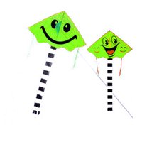 Wholesale Hot Sale Fashion High Quality Smiling Face Kite Two patterns Cartoon Kite for Kids