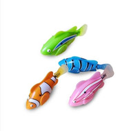 Wholesale New Novel Robofish Electric Toy Robo Fish Emulational Toy Robot Fish Electronic pets