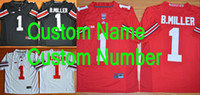jerseys for kids - Factory Outlet Custom Ohio State Football Jersey Personalized Ohio State Buckeyes Jersey College Football Jersey For Men Women Kids