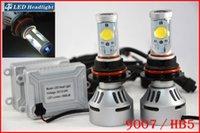 DHL 4 jeux 9007 HB5 72W 7000LM LED CREE Auto-phares Hi / Low double 4S faisceau UPGRADED MTG2 CHIP Xenon Blanc modifiable conduite antibrouillard
