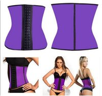 Wholesale factory Corsets and Bustier Sexy Latex Waist training Corsets Underbust Bustier corselet body shapers for trainer