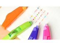 Wholesale 12PCS Cartoon Kawaii Correction Tape School Supplies Korean Stationery Creative Decorative Pen Correction Belt