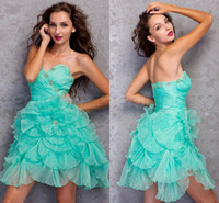 Cheap Cheap Sexy Custom Made Sweetheart Backless Graduation Corset Short Homecoming Dresses Cocktail Party Sweet 16 Puffy Corset Prom Dresses