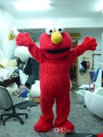 Wholesale Lowest Price Red Elmo Mascot Costume Halloween Costumes Chirstmas Party Adult Size Fancy Dress