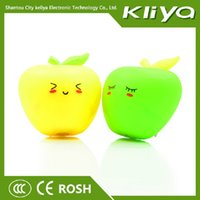 apple giveaway - Ke Liya cartoon apple Nightlight strange new intelligent lighting creative holiday gift giveaways Y
