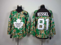 Wholesale Phil Kessel Camo Green Ice Hockey Jerseys New Arrival Hockey Wears Name Number Sewn On Brand Athletic Apparel Shirts