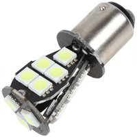 Wholesale 12V W LM BAY15D SMD White Light LED Car light Canbus No OBC Error Car Signal Light CLT_027