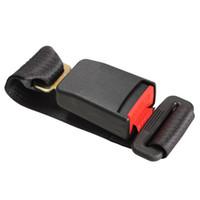 Wholesale DU Car Vehicle Seat Belt Extension Extender Strap Safety Buckle Black New A3