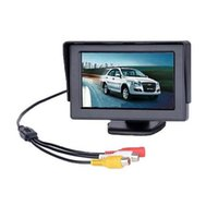 Wholesale Cheap LCD Car Rear Monitors Inch Black In car TFT LCD Monitor Fit for Cameras High Definition Design W Max Power
