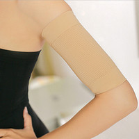 arm slimming sleeves - HOT SALE Women Slimming Hand Arms Thin Belt Massage Shaper Cellulite Calories Off Arm Sleeve Black