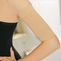 arm hand massage - HOT SALE Women Slimming Hand Arms Thin Belt Massage Shaper Cellulite Calories Off Arm Sleeve Black