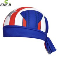 Wholesale Scarves Men Professional - Wholesale-bufanda de bicicleta CheJi Professional Sports Cycling Headband Heroes Union MTB Headscarf Quick Dry Cycling Bandana Scarf G007