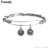beaded motif - 2015 Newest Alex and Ani Antique Silver Bamboo Motif Expandable Wire Charm Bangle Beaded Wrap Bracelet Adjustable Size AA201508