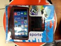 al por mayor iphone brazalete paquete al por menor-Envío libre del paquete al por menor del brazal de los deportes